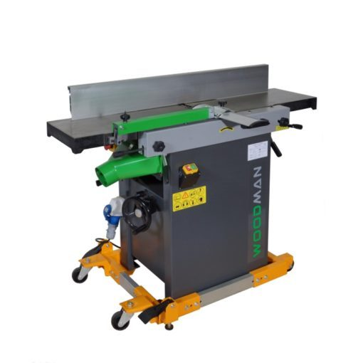 16″ Woodman Combination Thicknesser / Jointer with Shear Cut Helical Head