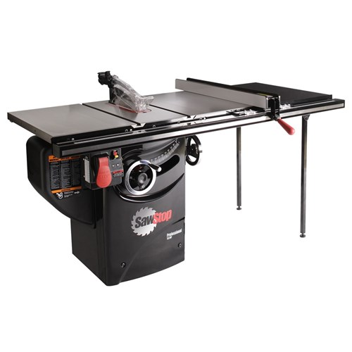 "SawStop Professional Cabinet Saw with 36"" T-Glide Rail"